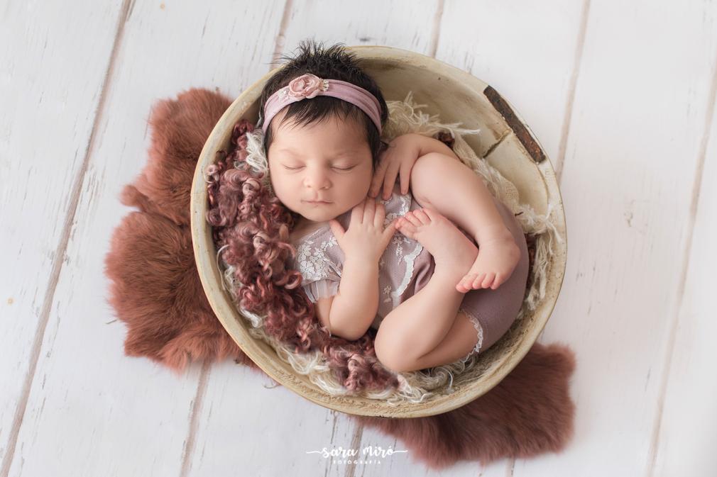 Sesión de fotos de recién nacido en Coslada