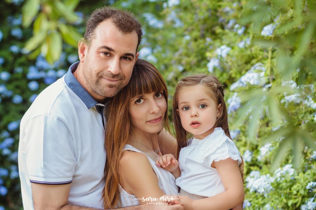 Sesión fotográfica familiar en Alcalá de Henares