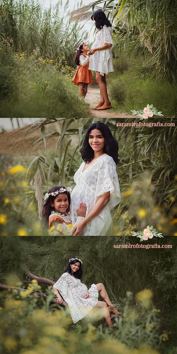 ¿Cómo es una sesión de fotos de embarazo con niños pequeños? Alcalá de Henares, Madrid