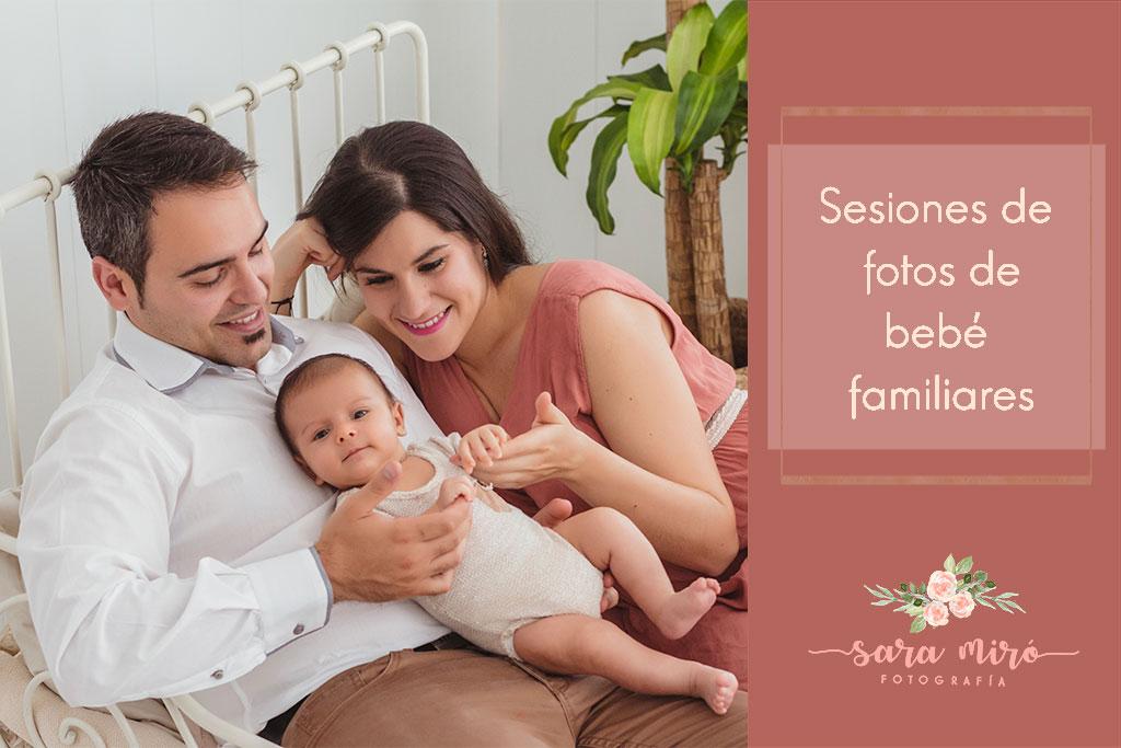 ¿Cómo es una sesión de fotos de bebé en familia?