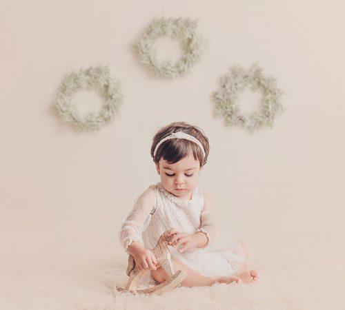 Sesión de fotos de bebé en Alcalá de Henares, Madrid