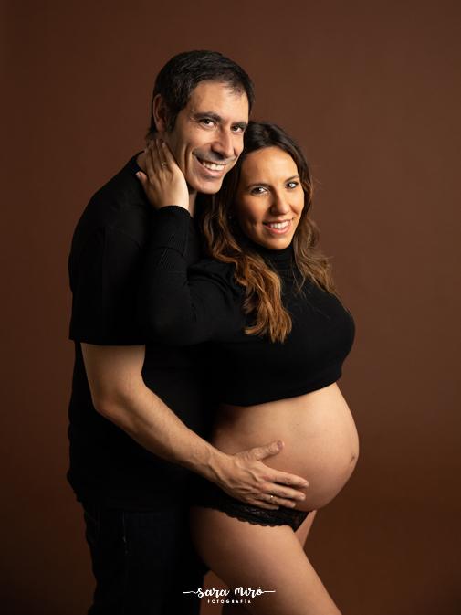 Sesión de fotos embarazada en Alcalá de Henares, Madrid